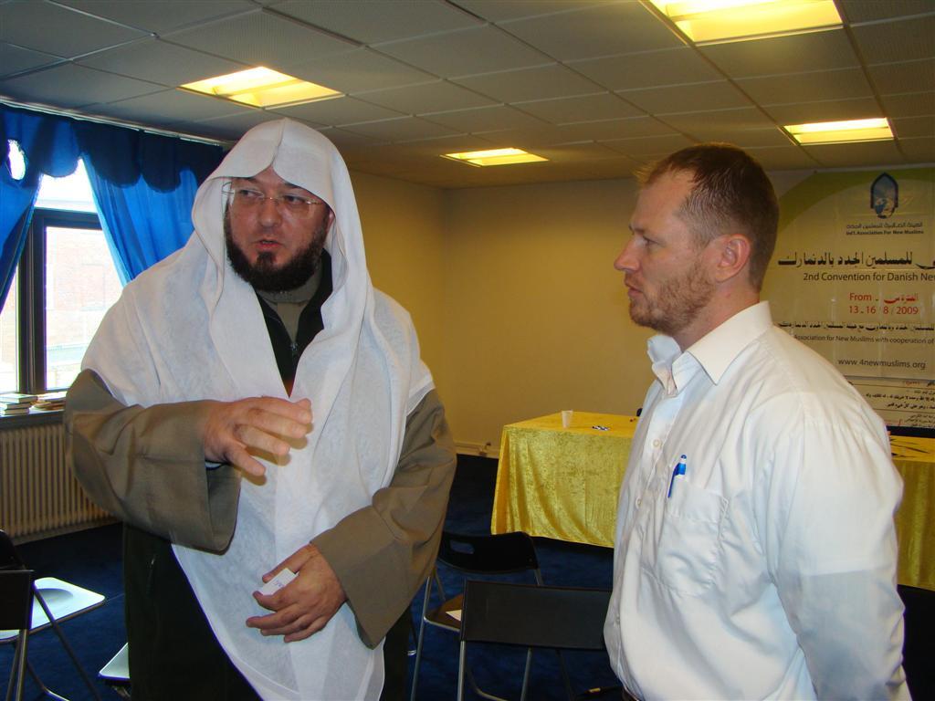 رحلة الشيخ إلى الدنمرك والسويد